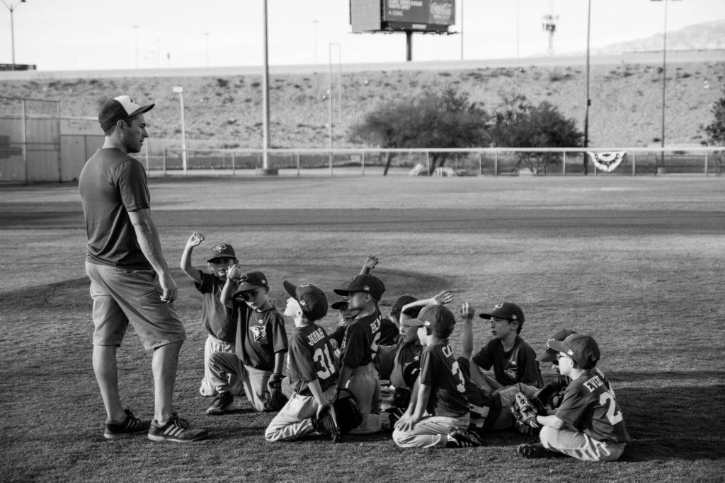 野球コーチ